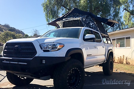02017 Toyota Tacoma with Tepui Tent - Overland Truck/Tent Rental  San Diego, CA