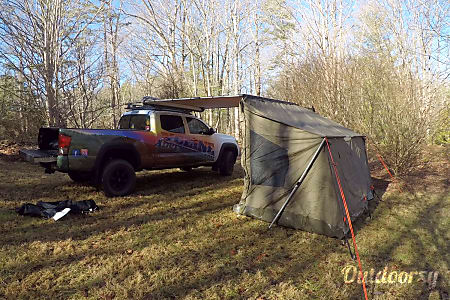 02016 Toyota Tacoma with ARB Tent  Fletcher, NC