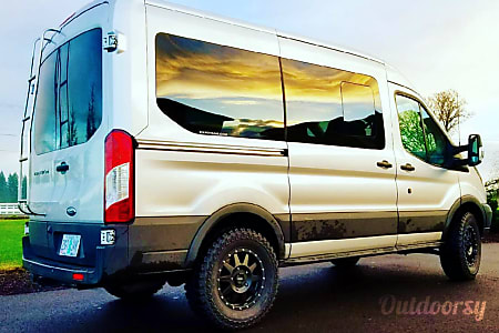 0FOXTROT - Ford Transit ExpoVan  Portland, OR