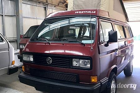 0GEORGIA 1989 VW Vanagon Westfalia  Santa Cruz, CA