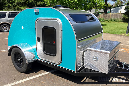 02016 DNM Teardrop Trailers 5'x8'  Eugene, OR
