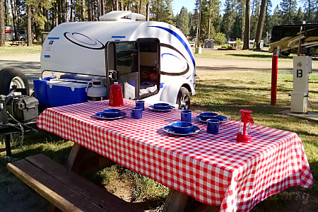 "0""Little Guy"" Teardrop Camper - 5 Wide  Nevada City, CA"