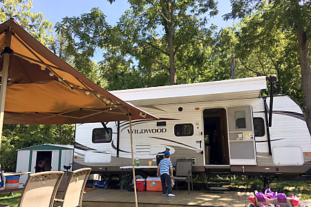 02015 Forest River Wildwood  Knox, IN