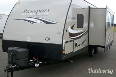 02015 Keystone Passport 2510rb  Fort Worth, TX