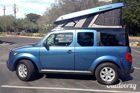 02008 Honda Element E-Camper  Boulder, CO