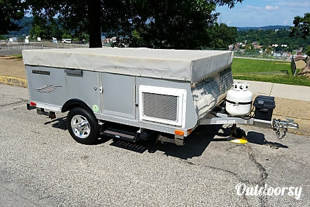 02013 Livin' Lite Quicksilver 8 . 1 Automotive Camper  McKeesport, PA