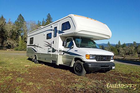 0Explore the North Coast/Redwoods! 2005 Fleetwood Tioga 31'  Willits, CA