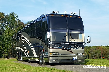 02000 Country Coach Prevost H3-45  Rush, NY