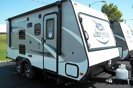 02017 Jayco Jay Feather Triple Hybrid Travel trailer Camper  Troutman, NC