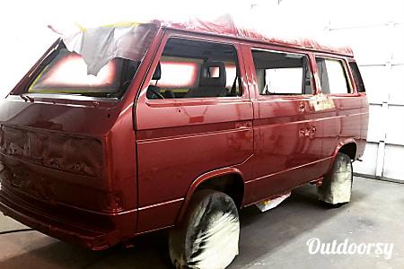 0MONTANA 1989 Volkswagen Westfalia  Santa Cruz, CA