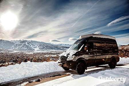 0'Blue' the Sprinter Van (2016 Mercedes Benz 4x4)  Aspen, CO
