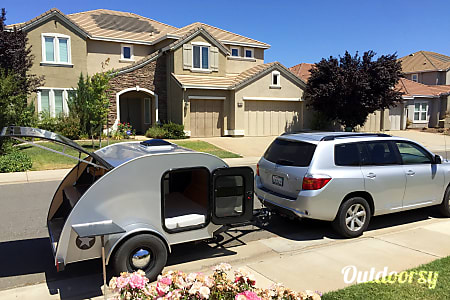 0Teardrop Travel Trailer  Rancho Cordova, CA