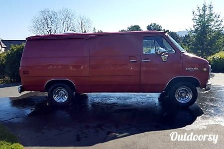01984 Chevy Adventure Van  Hood River, OR