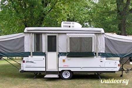 02000 Coleman Bayside Pop Up Camper 2000 Bayside Grand Tour Elite  Livonia, MI