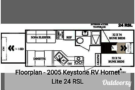 02005 Keystone Bunkhouse  Waterloo, IA