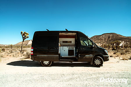 0LA Van Outfitters - 2015 Black Mercedes Sprinter Camper  Los Angeles, CA