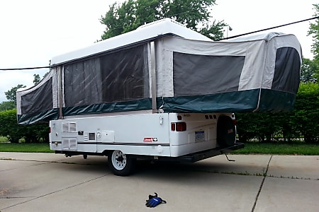 Detroit Rentals for Less, Pop-up Camper Rental, Travel