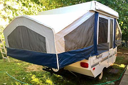 tent trailer crank broke