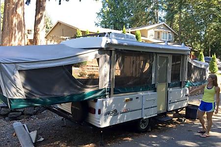 Seattle RV Rental, Popup Camper Rental, Travel Trailer Rental