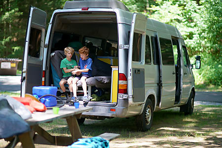 RV Rental Cost in Boston, Camper Van Rental / Class B Rental