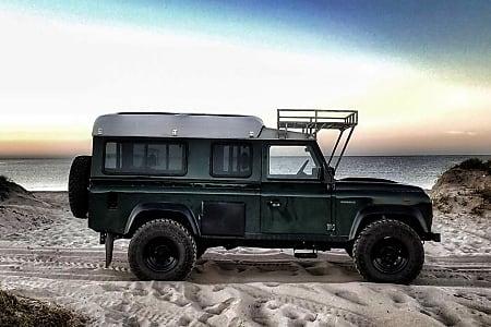 Land Rover Defender 110 >> Land Rover Defender 110 Camper Van
