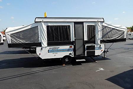 Budget RV Rentals near Charlotte, Popup Camper Rental