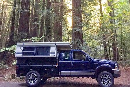 Overland Adventure 4x4 Camper - Four Wheel Camper on Ford F-250 Diesel  (Folsom, CA)