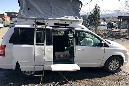 Chrysler Town And Country >> 17ft Chrysler Town Country 2010 Jucy Conversion Cmpvn1017