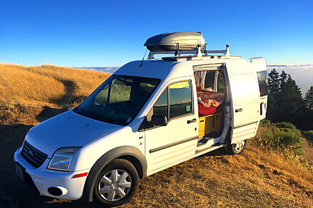 Ford Transit Connect Camper >> Cozy Ford Transit Connect Camper