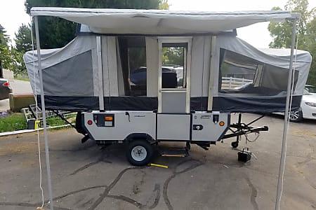 Big & Small RV Rentals Utah, Pop-up Camper Rental, Travel Trailer Rental
