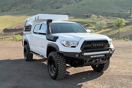 Build A Tacoma >> 2017 4x4 Toyota Tacoma Overland Yeti Build