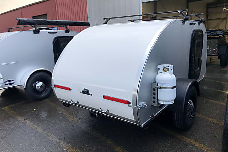 2019 Aero Teardrops 5 x 10 Steel model named Hazel