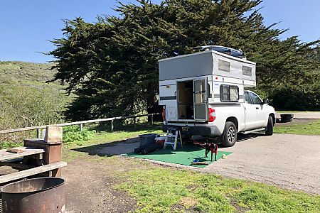 2014 Tundra with Four Wheel Camper