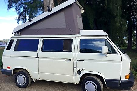 Vw Camper Van >> 1990 Vw Campervan Kauai