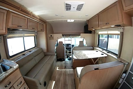 1984 Pace Arrow Motorhome Floor Plan