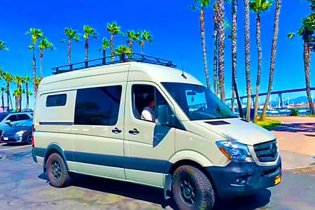 Mercedes Of San Diego >> 2018 Mercedes Benz Sprinter The Sand Shark Adventure Wagon