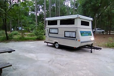 Jacksonville RV Rentals, Pop-up Camper Rental, Travel Trailer Rental
