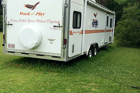 Work And Play Toy Hauler >> 2009 Forest River Work And Play