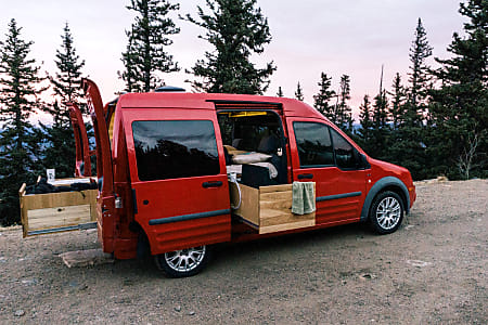 Ford Transit Connect Camper >> Chili Pepper 2011 Ford Transit Connect