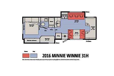 2015 Winnebago Minnie Winnie  Santa Clara, CA