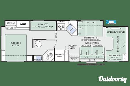 2017 Thor Quantum LF31  Seffner, FL
