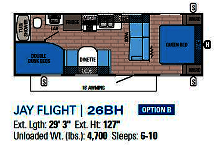 2017 Jayco Jay Flight * NEWLY ADDED PET FRIENDLY & TAILGATING  Castle Rock, CO