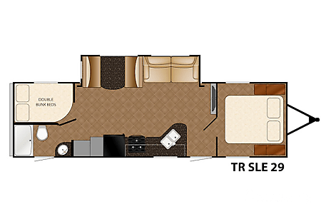 2016 Heartland TrailRunner SLE29  Meridian, ID