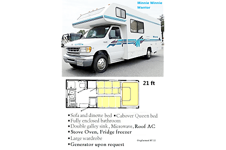 1999 Winnebago Warrior  Lynnwood, Washington