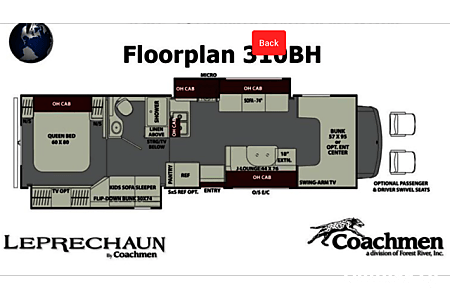 2018 Coachmen Leprechaun Bunk House  Canton, Texas