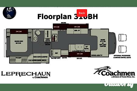 2018 Coachmen Leprechaun Bunk House  Canton, Texas