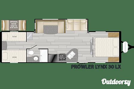 2017 Heartland Prowler Lynx 30LX  Pass Christian, MS