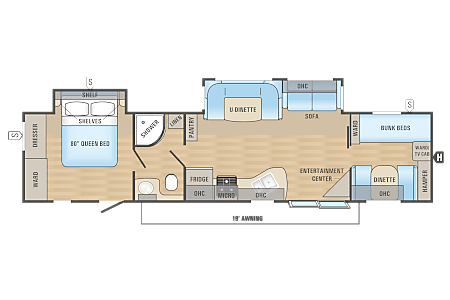 2017 Jayco Jay Feather Ultra Lite  Miramar, Florida