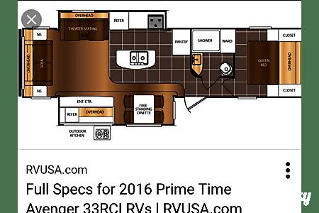 2015 Prime Time Avenger  Saginaw, Michigan
