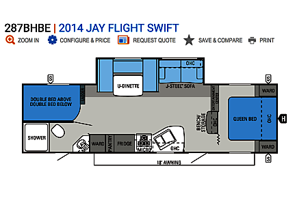 02014 Jayco Jay Flight Swift  Horseshoe Bend, ID